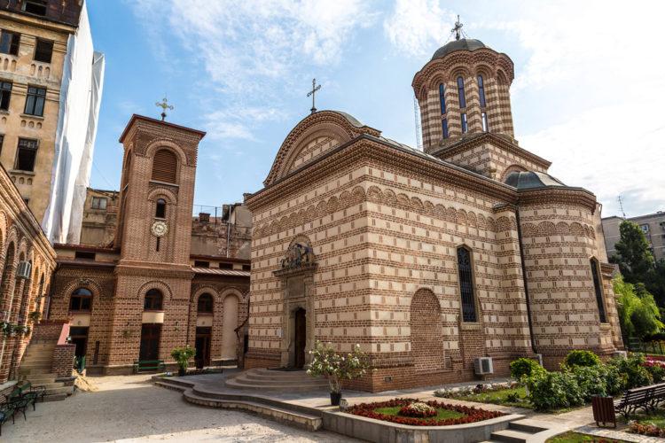 Бывшая резиденция Куртя-Веке - достопримечательности Бухареста