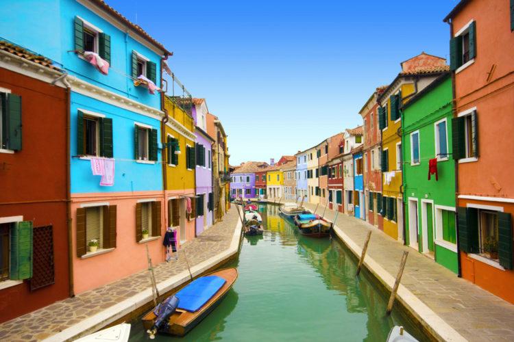 Остров Бурано - достопримечательности Венеции