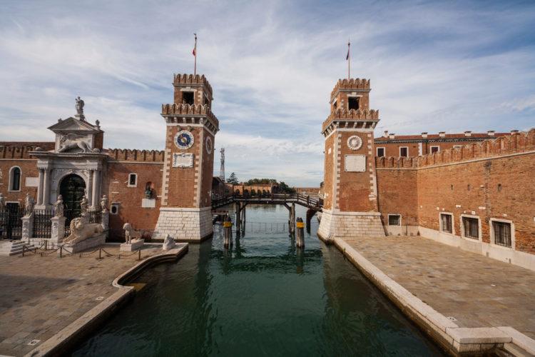 Арсенал - достопримечательности Венеции
