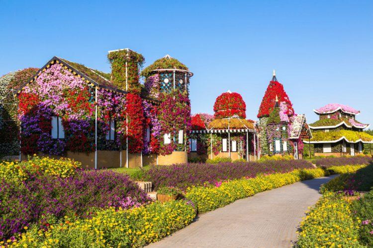 Парк цветов - достопримечательности Дубая
