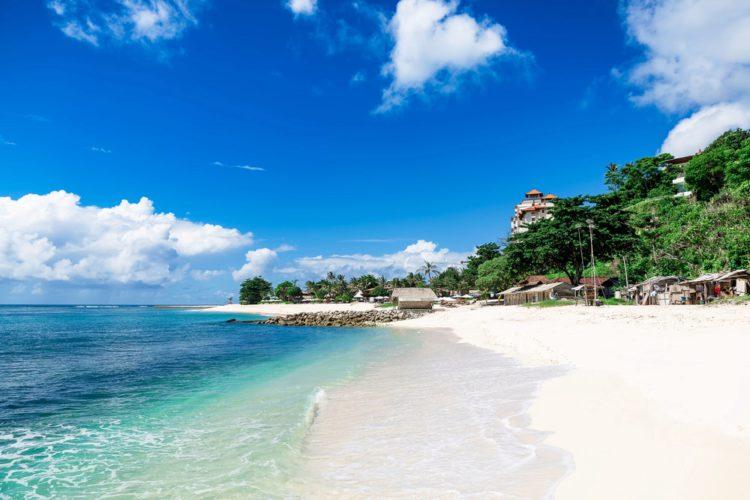 Пляж Баланган - достопримечательности Бали
