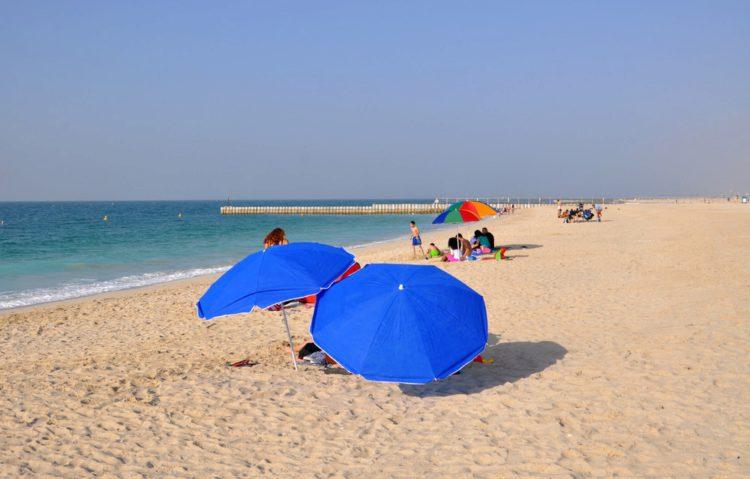 Пляж Кайт-Бич - достопримечательности Дубая