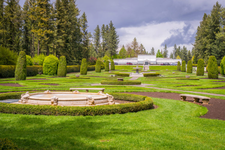 Ботанический сад США - достопримечательности Вашингтона