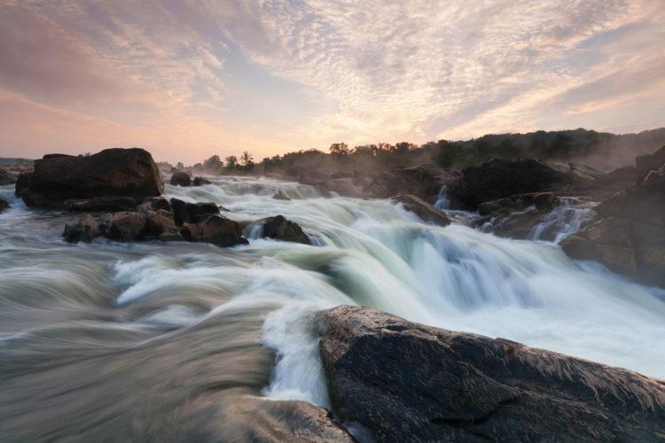 Великие водопады Потомака - достопримечательности Вашингтона
