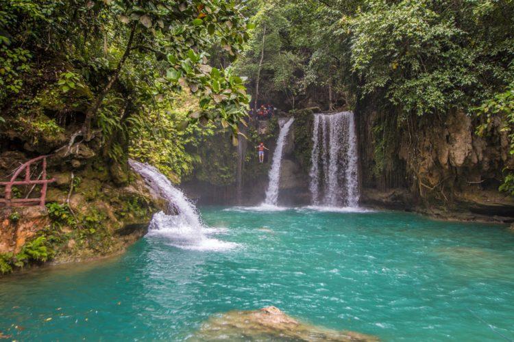 Водопады Кавасан - достопримечательности Филиппин