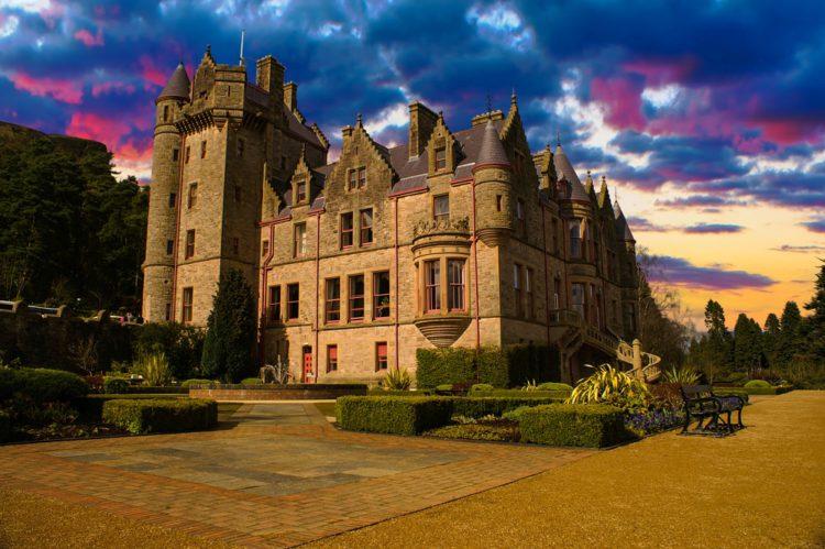 Замок Белфаст - достопримечательности Белфаста