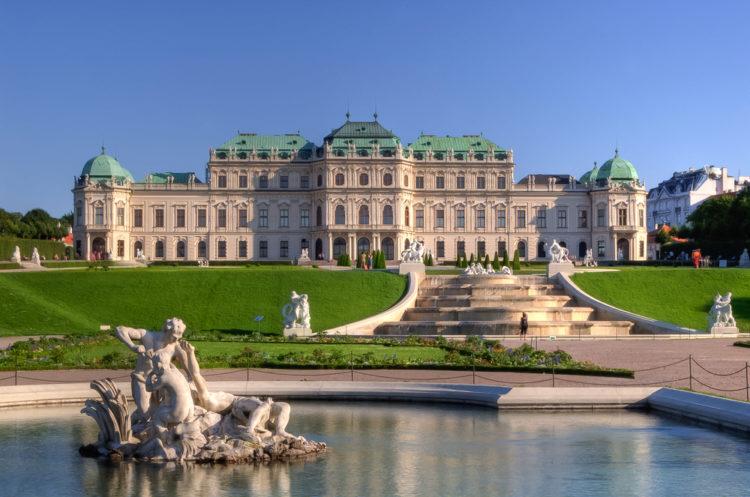 Бельведер - достопримечательности Вены