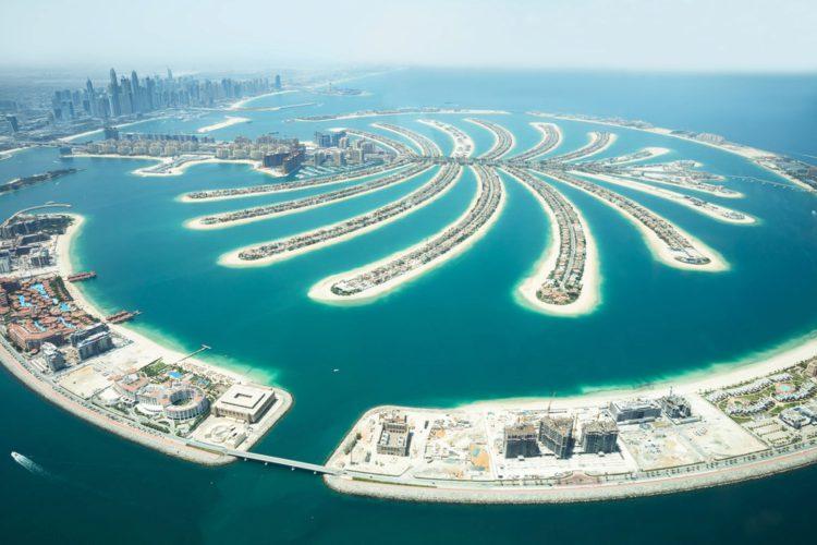 Острова Пальм - достопримечательности Дубая