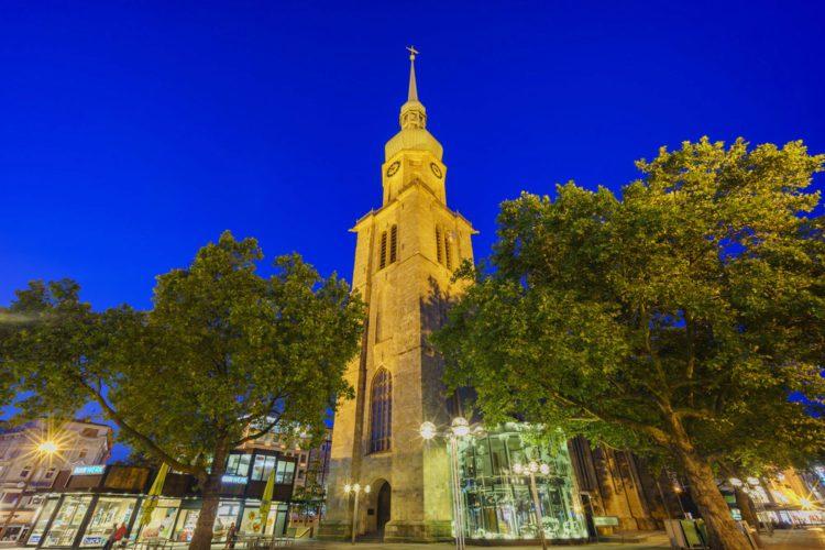 Церковь Святого Ринальда - достопримечательности Дортмунда