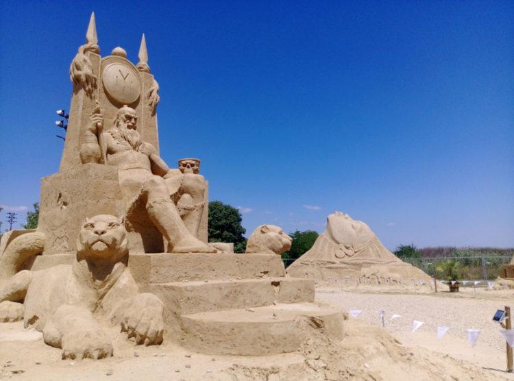 Фестиваль песчаных скульптур - достопримечательности Бургаса
