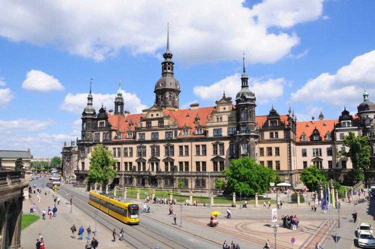 Дрезденский замок-резиденция - достопримечательности Дрездена