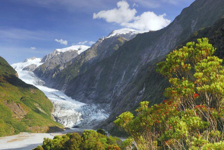 Ледник Франца-Иосифа - достопримечательности Новой Зеландии