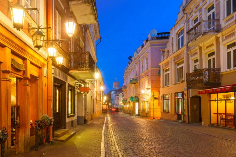 Улица Пилес - достопримечательности Вильнюса