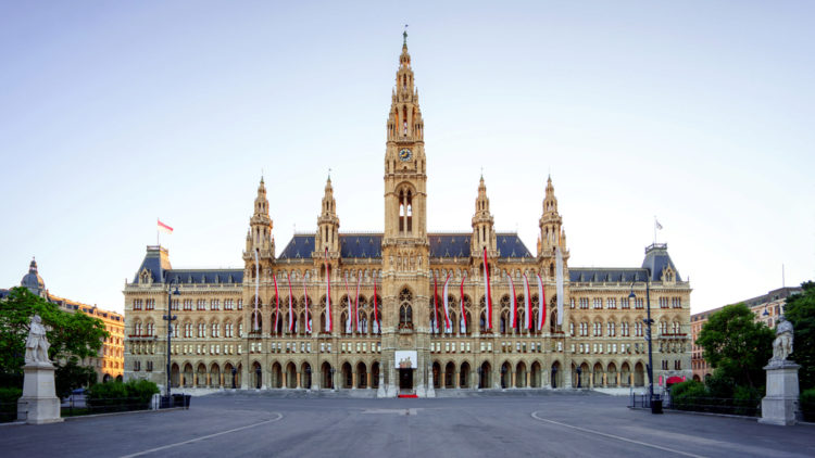 Венская Ратуша - достопримечательности Вены