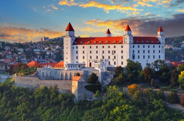 Братиславский град - достопримечательности Братиславы