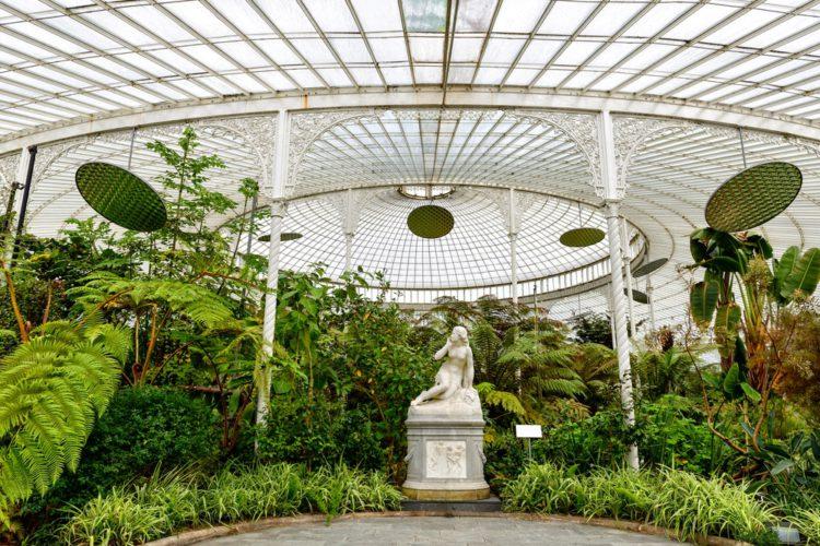 Ботанический сад - достопримечательности Глазко