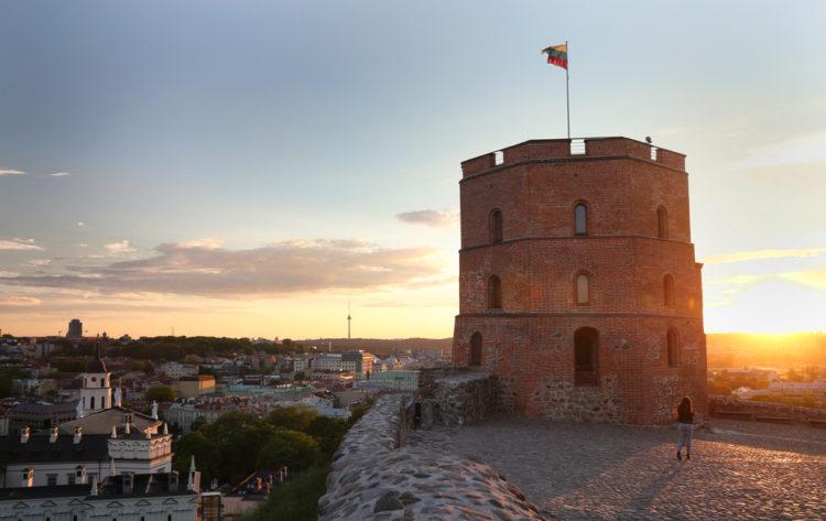 Башня Гедимина - достопримечательности Вильнюса