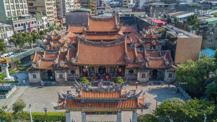 Храм Луншань - лостопримечательности Тайваня