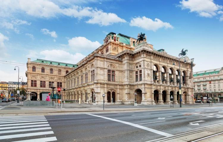 Венская опера - достопримечательности Вены