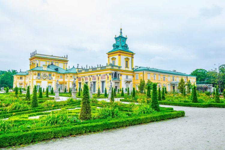 Вилянувский дворец - достопримечательности Варшавы