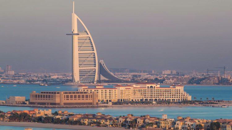 Отель Парус - достопримечательности Дубая