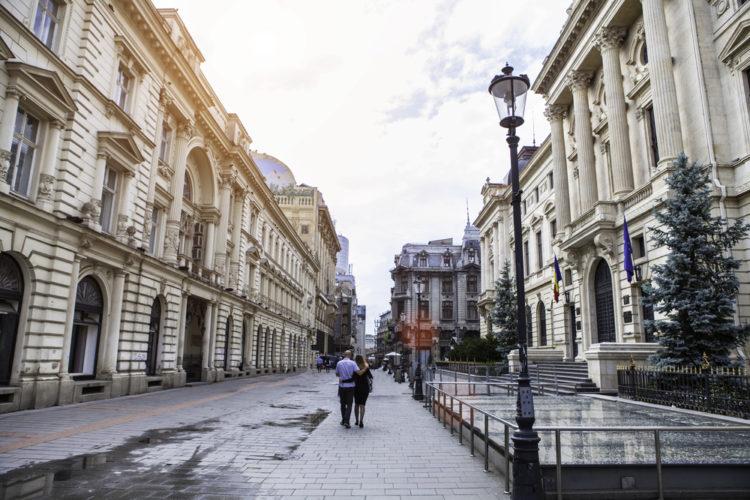 Улица Липскань - достопримечательности Бухареста
