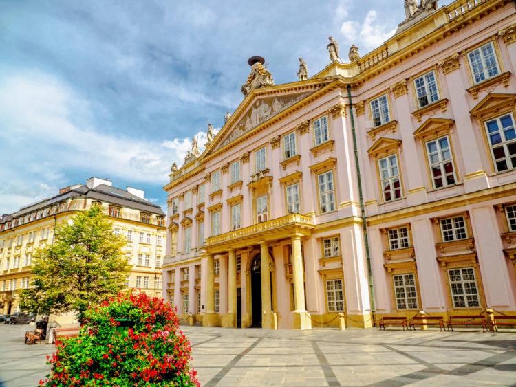 Дворец Примаса - достопримечательности Братиславы
