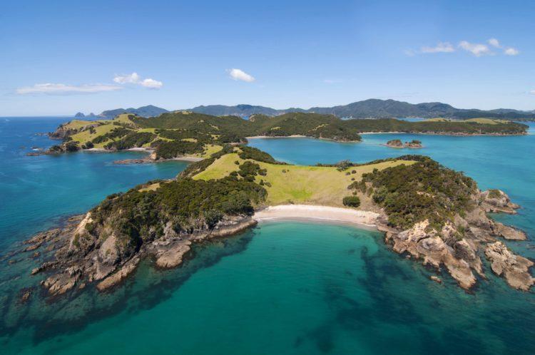 Бухта Островов - достопримечательности Новой Зеландии