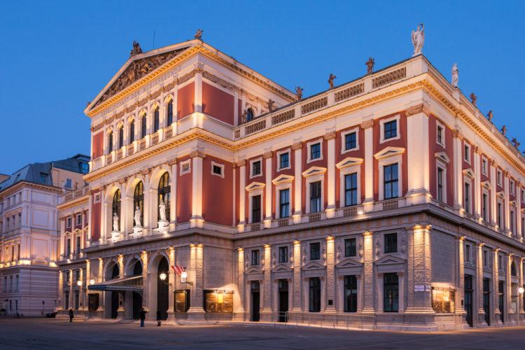 Венская Филармония - достопримечательности Вены