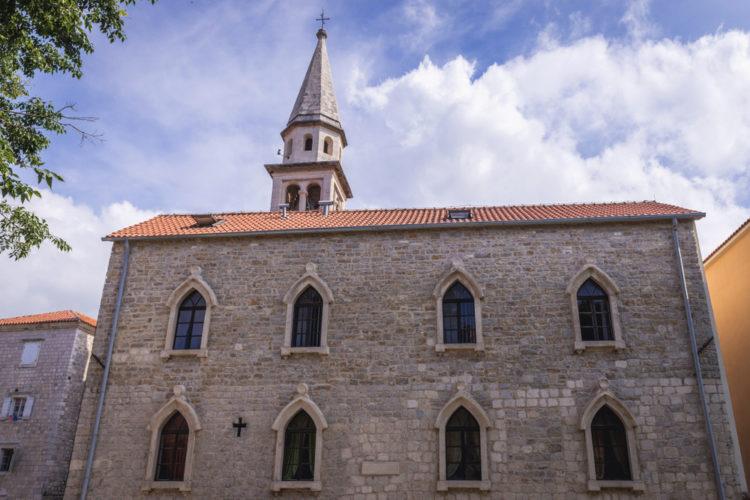 Собор Святого Иоанна Крестителя - достопримечательности Будвы