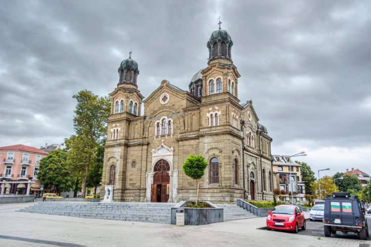 Собор Святых Кирилла и Мефодия - достопримечательности Бургаса