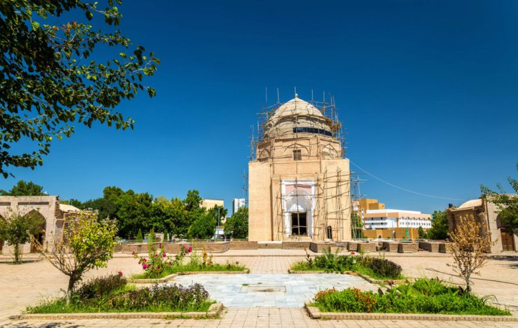 Мавзолей Рухабад в Самарканде - достопримечательности Узбекистана