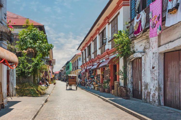 Исторический город Виган - достопримечательности Филиппин