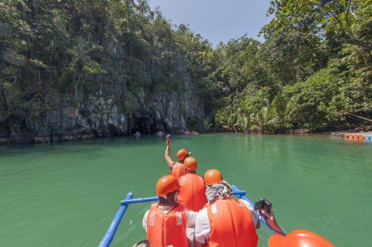 Подземная река Пуэрто-Принсеса - достопримечательности Филиппин