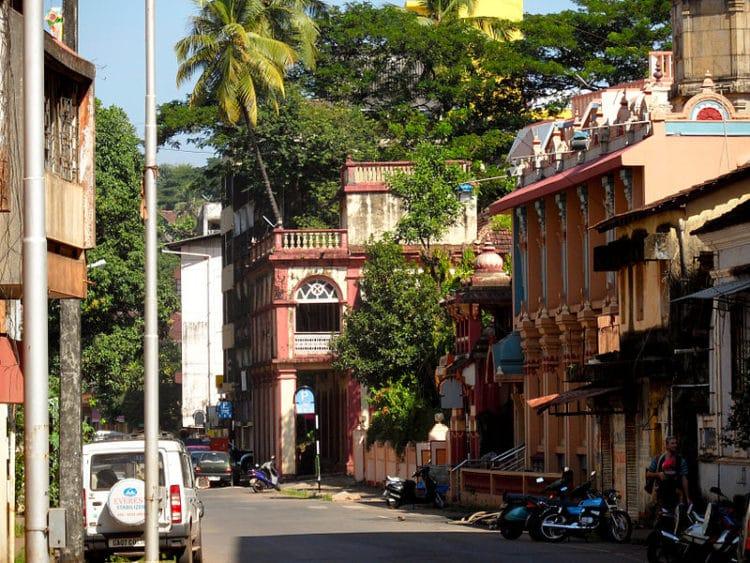 Город Панаджи - достопримечательности Гоа