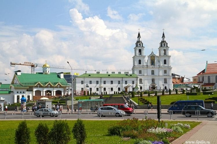 Верхний город - достопримечательности Минска