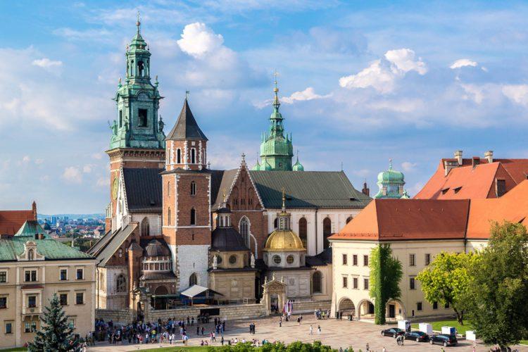 Собор Святых Станислава и Вацлава - достопримечательности Кракова