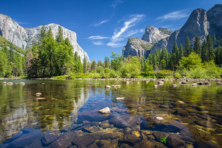 Самые красивые места мира - Долина Йосемити, США