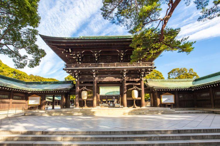 Храм императора Мейдзи - достопримечательности Токио