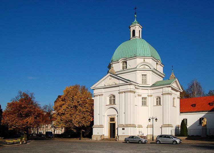 Костёл Святого Казимира - достопримечательности Варшавы