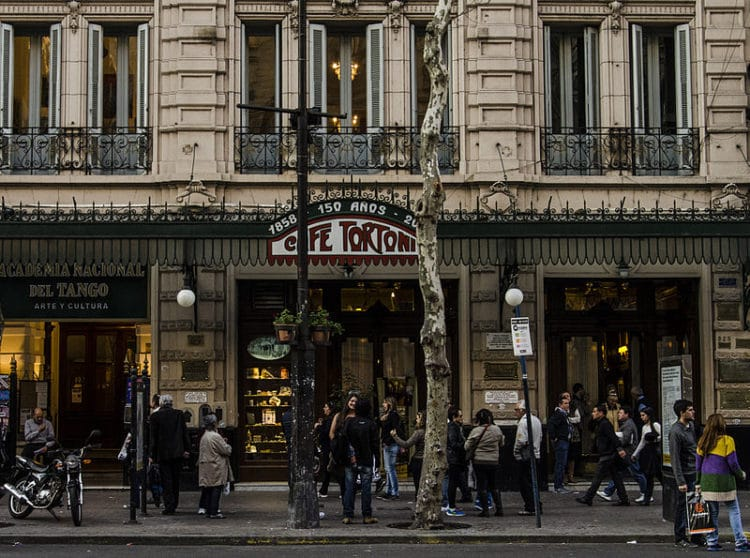 Кафе «Тортони» - достопримечательности Буэнос-Айреса