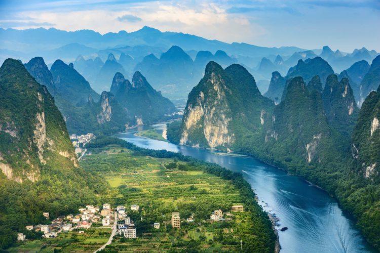 Самые красивые места земли - река Ли, Китай
