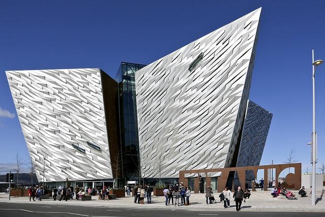 Музей-памятник Титаник-Белфаст - достопримечательности Белфаста