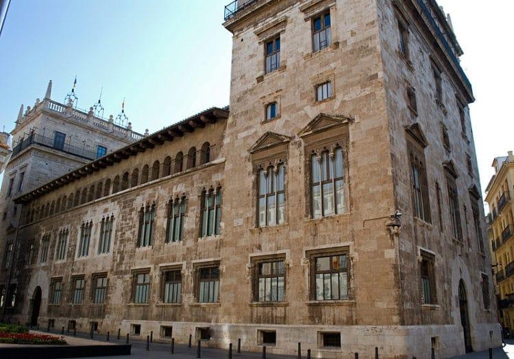 Дворец Женералидад - достопримечательности Валенсии