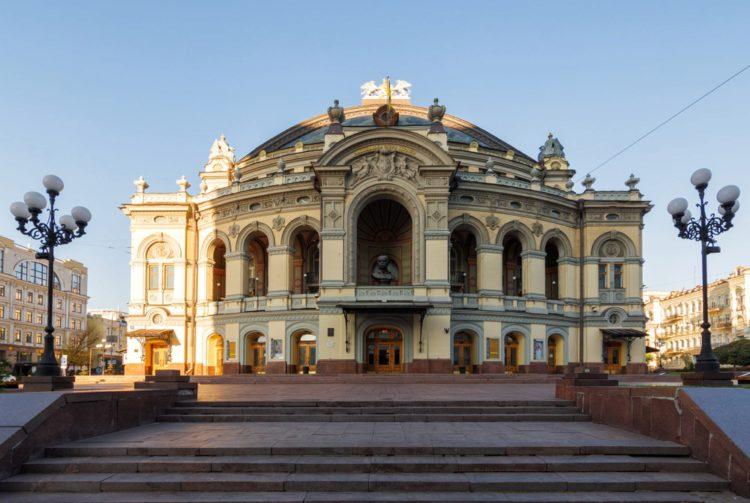 Оперный театр Тараса Шевченко - достопримечательности Киева