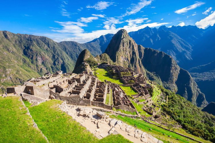 Самые красивые места земли - город инков Мачу-Пикчу, Перу