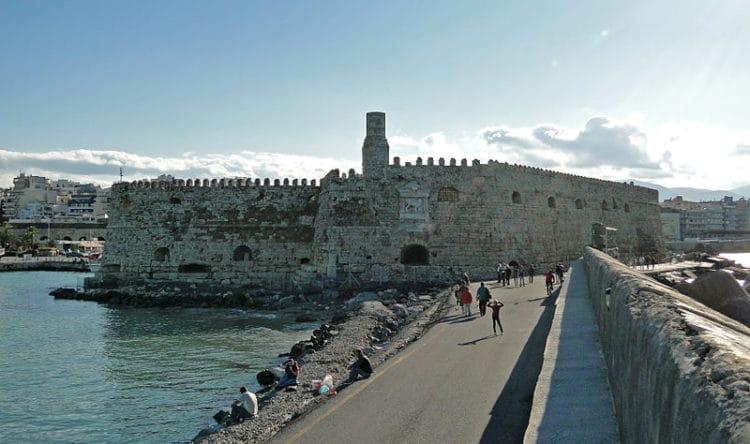 Крепость Фортецца - достопримечательности Крита