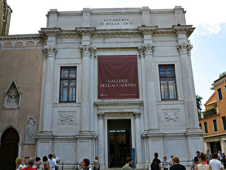 Галерея Академии - достопримечательности Венеции