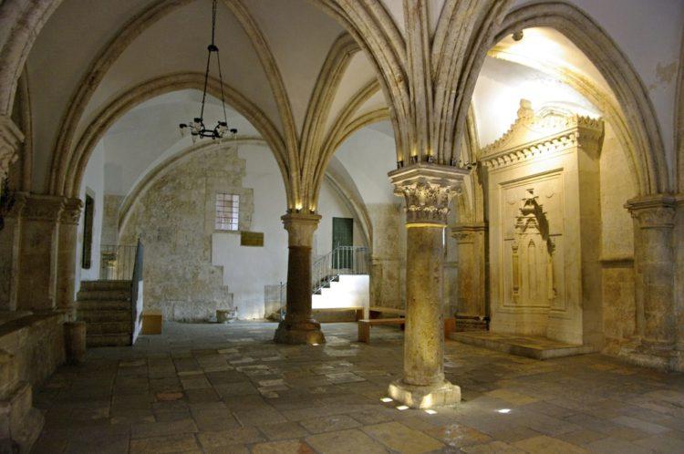 Горница Тайной Вечери - достопримечательности Иерусалима
