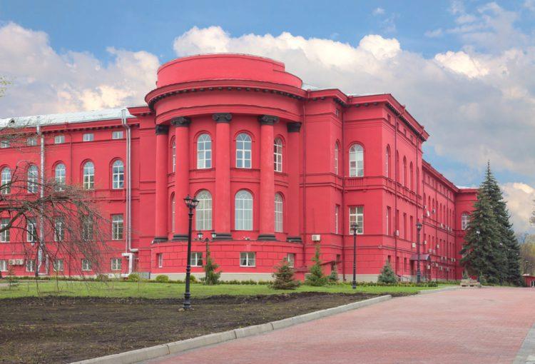 Киевский Национальный Университет - достопримечательности Киева
